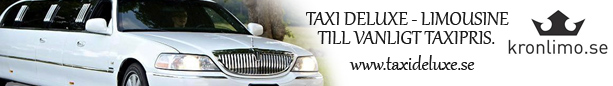 Taxi Deluxe - Limousine till vanligt taxipris
